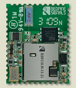 Redpine Signals Announces Industry's First Full-Featured and Self-Contained Low-Power 802.11n Wi-Fi Module for M2M Markets