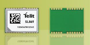 Telit GPS Glonass module SL869