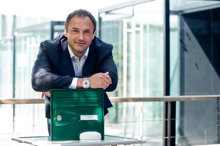 Ludovic Le Moan, CEO of Sigfox