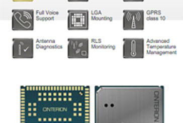 Cinterion Introduces World's Smallest Surface Mount Automotive Module as Part of the Intel Intelligent Systems Alliance Program