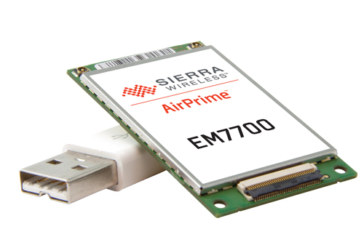 Sierra Wireless unveils the world's thinnest 4G LTE embedded module