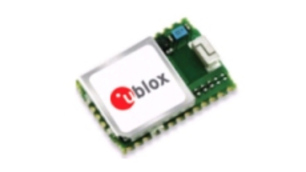 u-blox introduces world's smallest multi-GNSS module with built-in