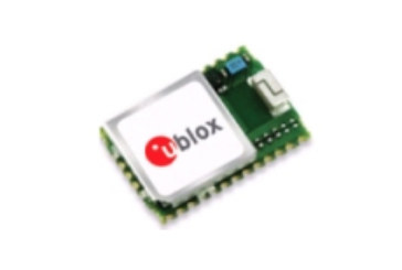 u-blox introduces world's smallest multi-GNSS module with built-in antenna