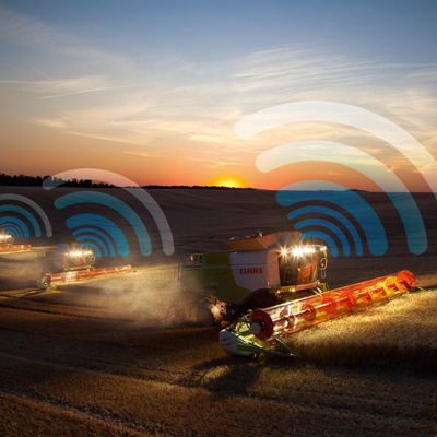 Global agricultural equipment manufacturer reaps telematics benefits with GPRS communications via Wireless Logic
