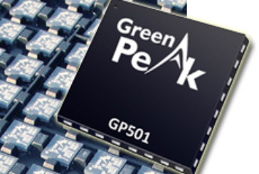 GreenPeak Launches the New GP501 ZigBee Radio Chip