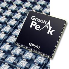 GreenPeak Launches the New GP501 ZigBee Radio Chip