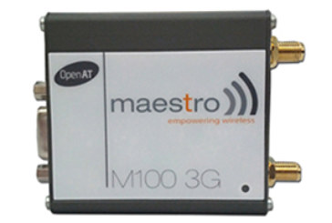 Maestro Wireless Solutions Today Announces at CTIA the Official Release of the M100 3G, the Latest Addition to Its Maestro 100 Series