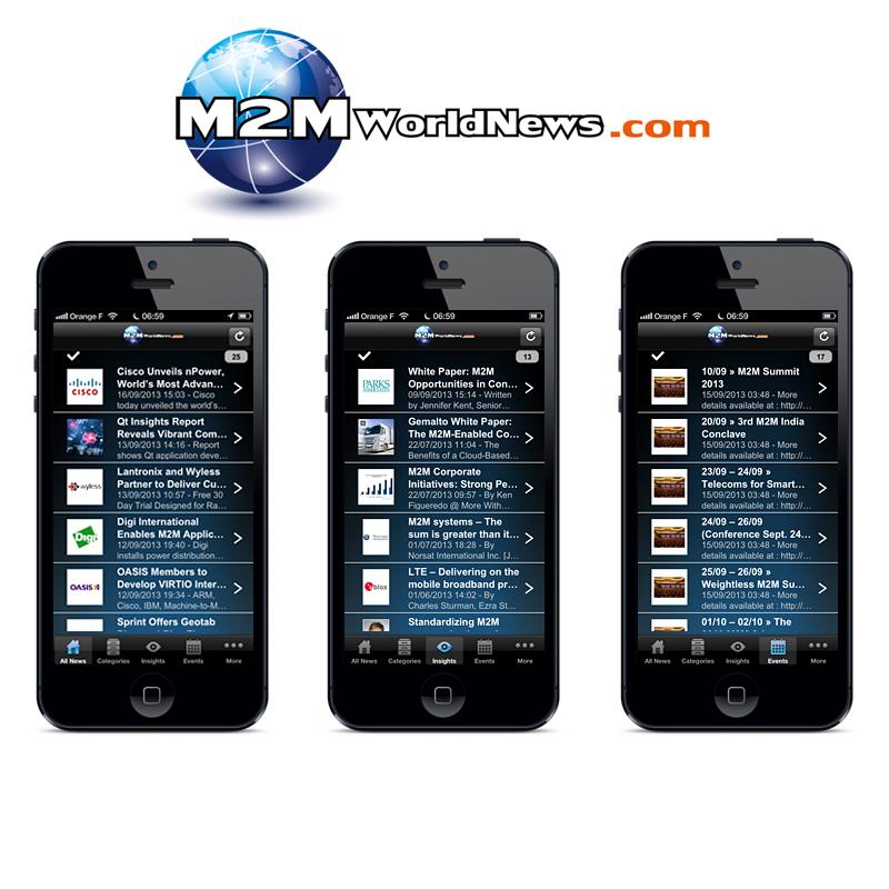 M2M World News iPhone