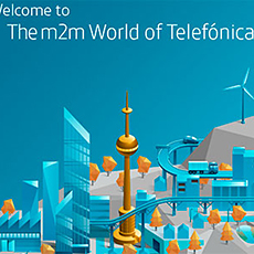 the M2M world by Telefonica