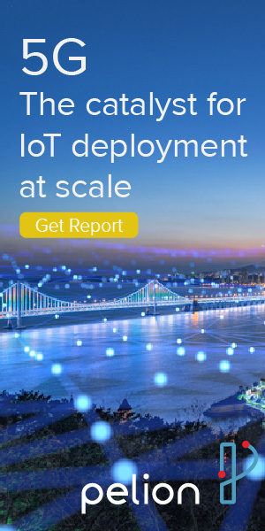 Pelion report 5G and IoT - banner 300x600