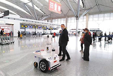 Smart 5G Patrol Robots Equipped with Advantech's MIC-770 Edge Computer Deployed to Fight Coronavirus