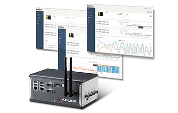 AdLink IIoT solution for machine condition monitoring