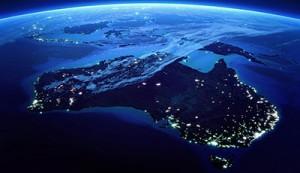 Australia from sky