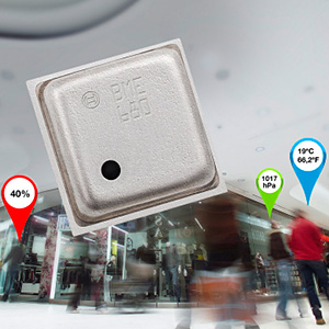Bosch Sensortec launches combo MEMS solution with integrated gas sensor