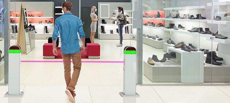 Deutsche Telekom launches access control lighting system to regulate entry to shops