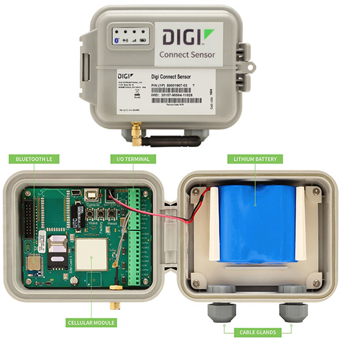 Digi International Introduces Cellular Gateway Solution for No or Low Power Locations