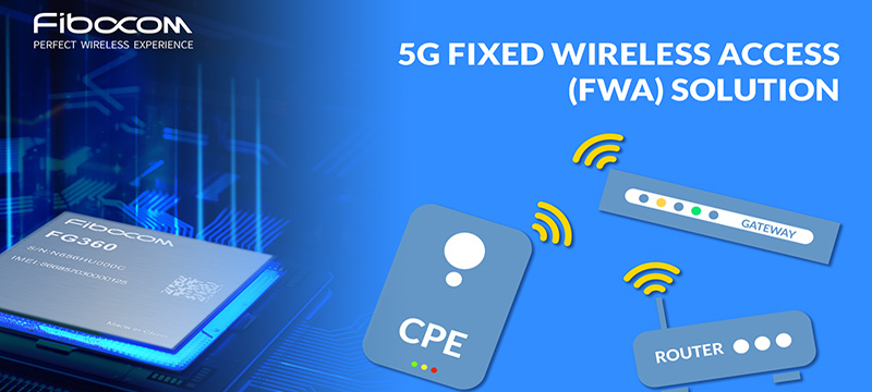 Fibocom 5G modules for FWA