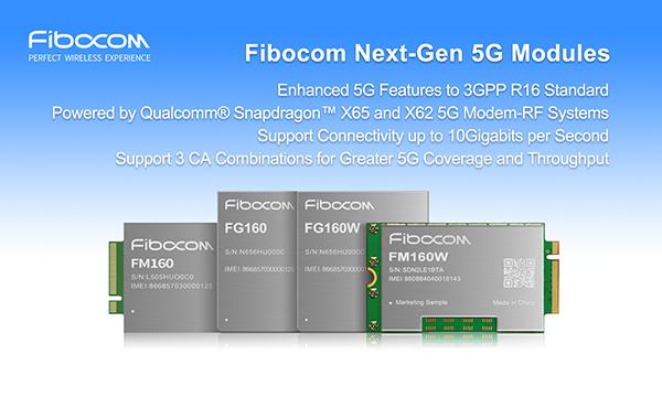 Fibocom FM160 5G modules