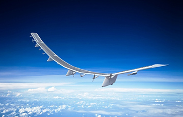 SoftBank Corp. Develops Aircraft That Delivers Telecommunications Connectivity From the Stratosphere