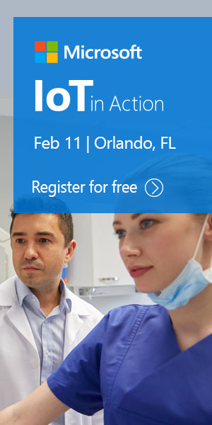 Register for free for IoT in Action Orlando, Feb 11, 2019