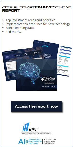 IQPC Automation Report 2019