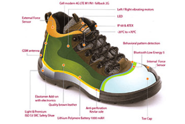 Intellinium Selects Sierra Wireless' Device-to-Cloud IoT Solution for Industry's First Smart Safety Shoe to Protect Workers