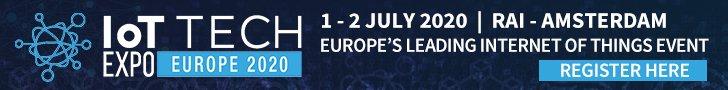 Register for IoT Tech Expo Europe 2020