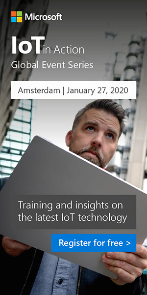 Register for IoT in Action Amsterdam 2020