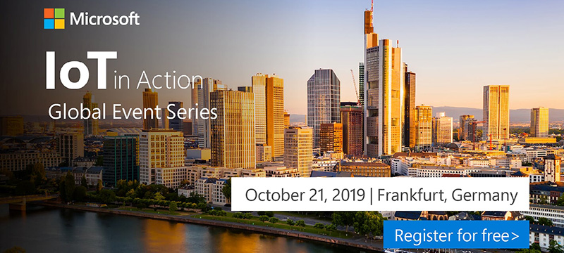 Register now for IoT in Action Frankfurt
