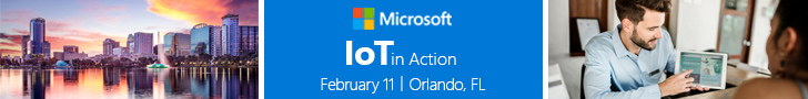 Register for IoT in Action Orlando, Feb.11