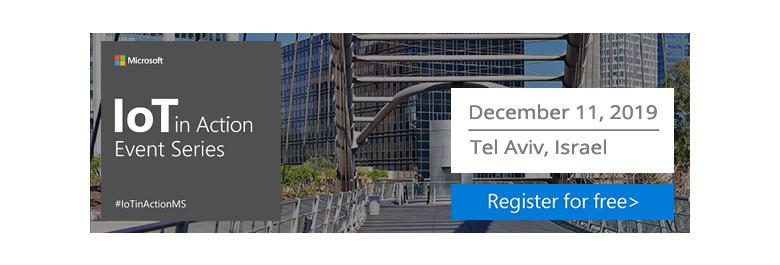 IoT in Action Tel Aviv 2019