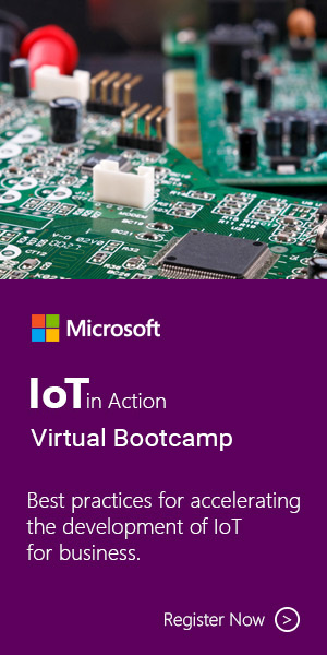 IoT in Action Virtual Bootcamp 2019