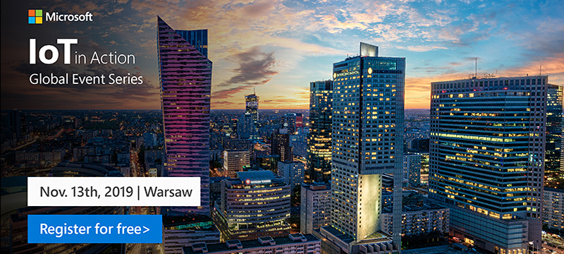 Register now for IoT in Action Warsaw