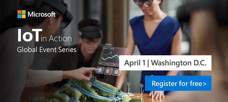 Register now for IoT in Action Washington 2020