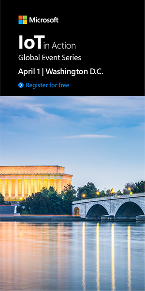 Register for IoT in Action Washington 2020