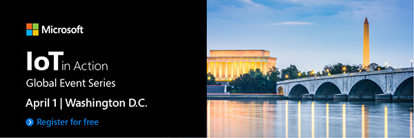 Register for IoT in Action Washington DC 2020