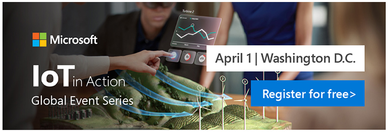 REgister for IoT in Action Washington