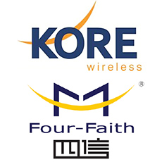 KORE Wireless teams up with Four Faith