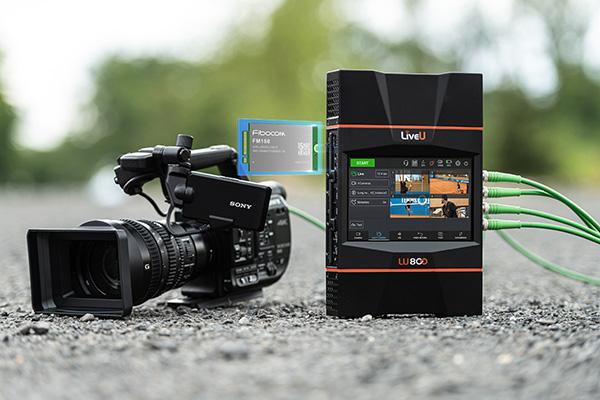 LiveU LU800 Embedded with Fibocom FM150 5G Wireless Module