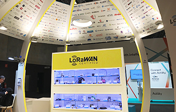 LoRa Alliance booth at MWC2019