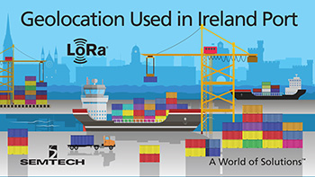illustration: LoRa used in Cork (Ireland) port