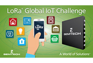 Semtech LoRa® Wireless RF Technology Featured at First Global IoT Challenge