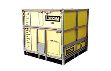 Loscam bulk container