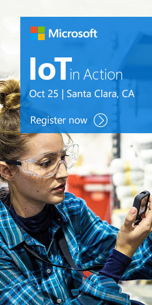 Register now for free for IoT in Action Santa Clara 2018