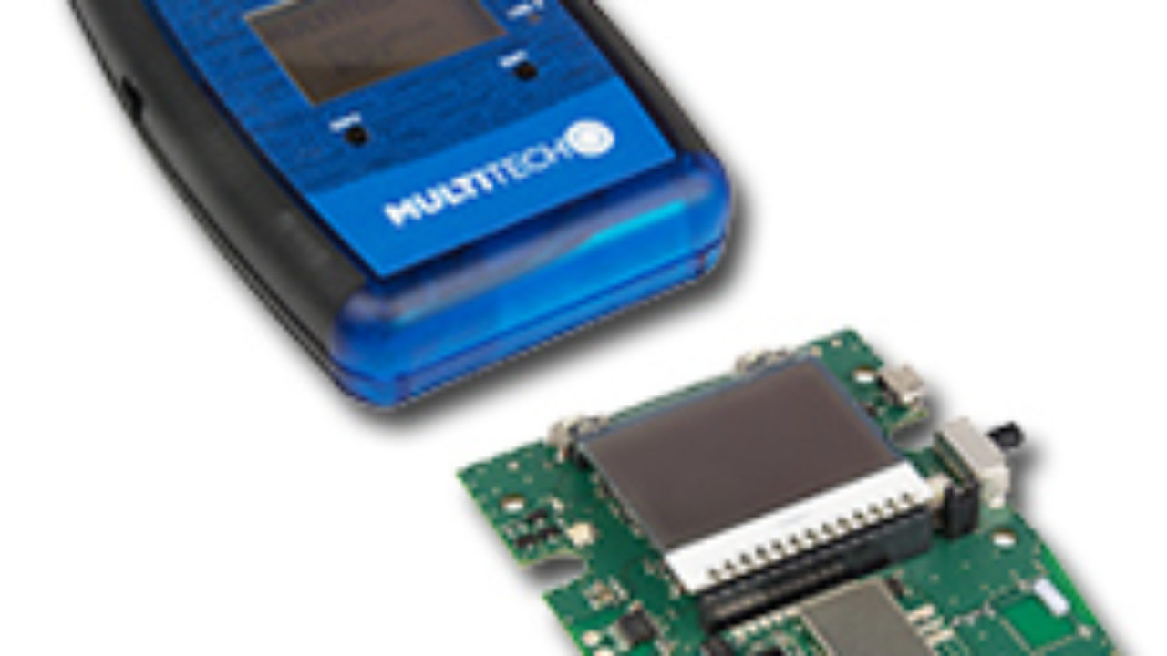 MultiTech Launches Portable, Handheld LoRa End-Point Device and LoRa