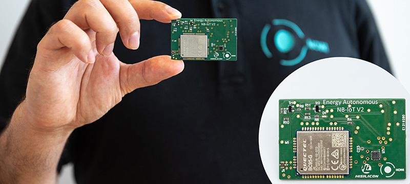 HiSilicon & Nowi Introduce Energy Autonomous NB-IoT Platform