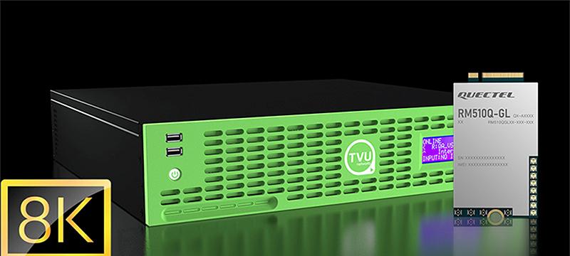 Quectel 5G modules in TVU router