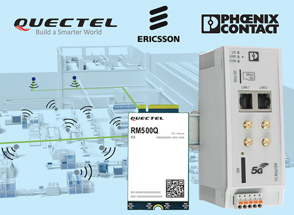 Quectel, Ericsson and Phoenix collaborate on 5G