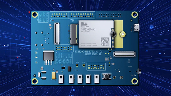 SIMCom 5G module SIM8202G-M2 accelerates the Smart Internet of Everything