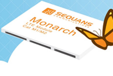 Sequans Introduces Monarch, Industry's First LTE Cat M Chip for the Internet of Things